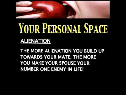 Dating Mating Relating Lesson 7 - Your Personal Space! Part 4