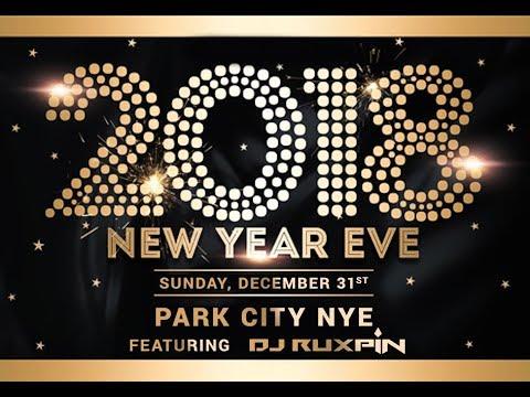 Park City NYE 2018 - DJ Ruxpin
