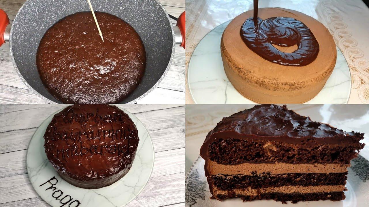 Qazanda hazırlanan super Praqa tortu.