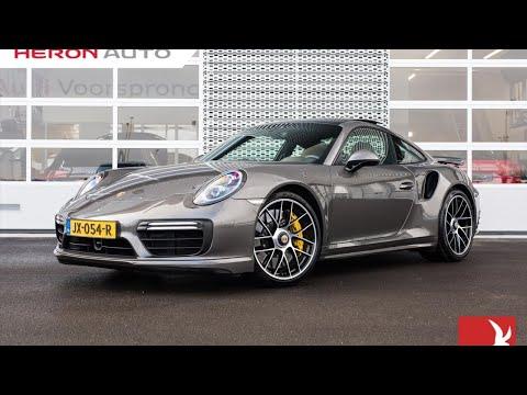 Porsche 911 Coupe 3.8 TURBO 4S 580pk PDK | Burmester Sound | Keramisch | ACC