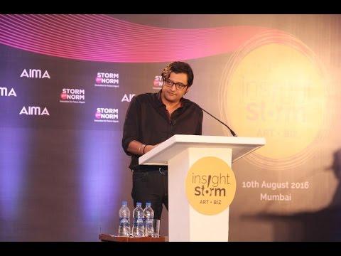 Insight Storm - Session 6 : Arnab Goswami and Sam Balsara