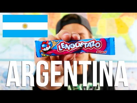 Trying ARGENTINIAN Candy!
