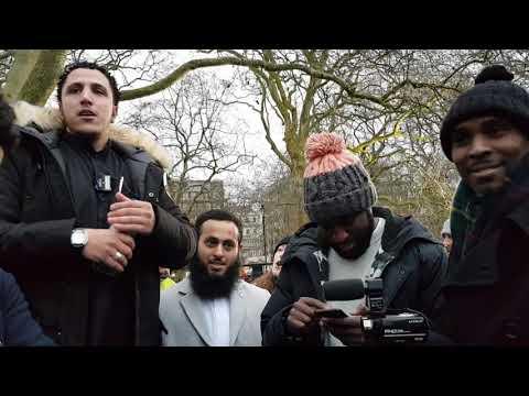 Albaghdadi's Crew At The Park- Shamsi Vs Godwin Hyde Park Speakers Corner
