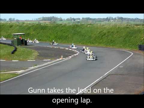 Ross Gunn at Shenington Super One, Minimax ~ First heat win.