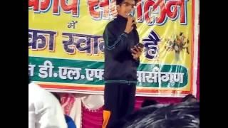 Umesh Bharatpuria (Sharma) on Yogi Adityanath becoming CM of UP    Kavi sammelan