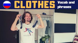 Clothes in Russian
