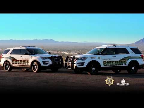 Watch a Ford Explorer transform into a Pima County Sheriff's Department SUV