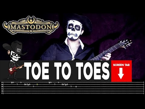 Mastodon - Toe to Toes (Guitar Cover by Masuka W/Tab)