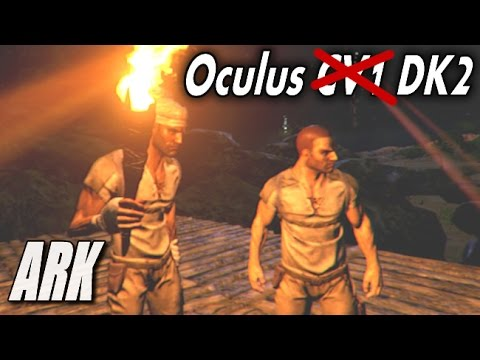 Oculus Rift DK2 Duo - ARK Survival Evolved [Private Server]