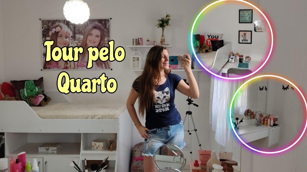 TOUR PELO MEU QUARTO- Camily Balbo