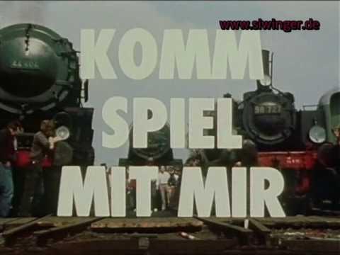 """Siw Inger in den Sendungen """"Komm spiel mit mir"""" / Eisenbahn - Romantik (1980/1982) -Zusammenschnitt-"""