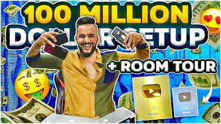 MY SETUP TOUR & ROOM TOUR🔥🔥 !! ( 100 MILLION $🤑 )