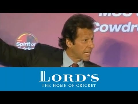 Jeff Thomson and Imran Khan on recording bowlers' speed