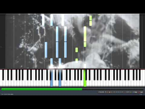 Riverside - Agnes Obel on piano/Synthesia (+sheets + MIDI) tutorial