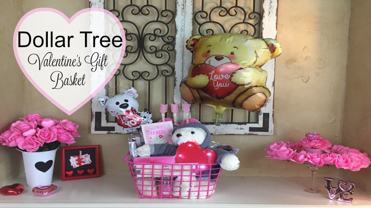 2017 Dollar Tree Valentine S Day Teen Basket Youtube