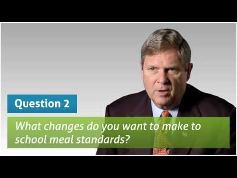 Secretary Tom Vilsack on the Child Nutrition Act