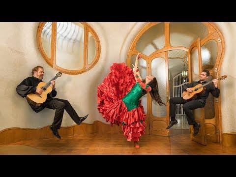Sergi Vicente, Olga Ponce i Juan Ruano - Nits Màgiques Casa Batlló 2018