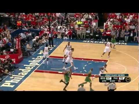 Rajon Rondo 23 Points 14 Assists Vs Philadelphia Sixers Full Highlights Game 3 NBA Playoffs 2012 HD