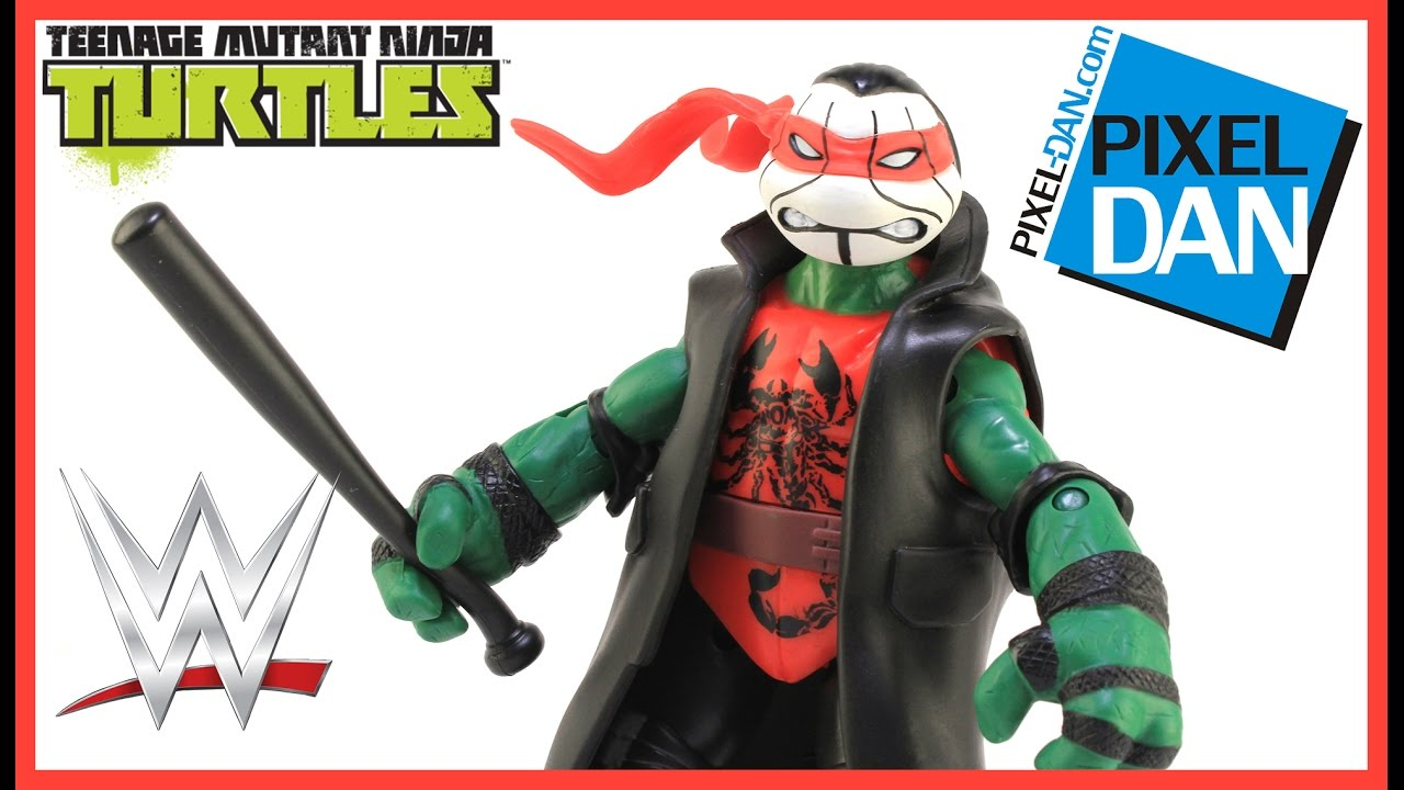 PLAYMATES TMNT RAPHAEL AS STING NINJA SUPERSTARS ACTION FIGURE Action- & Spielfiguren