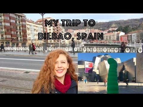 My Trip to Bilbao, Spain by Venus O'Hara