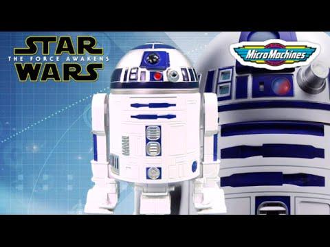Micro Machines Star Wars Action Fleet R2d2 Blue