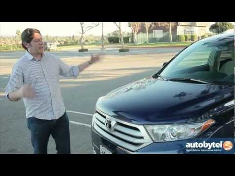 2012 Toyota Highlander Test Drive & SUV Review