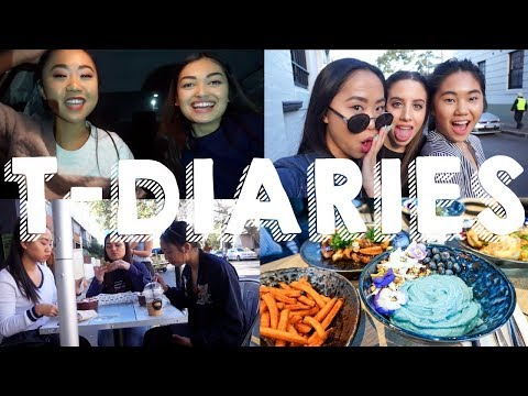 T-DIARIES Ep.8 // Meal Prep & Blue Smoothie Bowls | THERESATRENDS