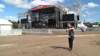 Lollapalooza Brasil 2013 - Tour pelo Jockey