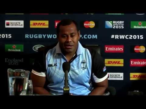 Rugby World Cup - Fiji Press conference pre England Game
