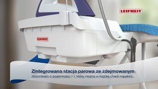 Leifheit Air Active M Professional (Polish)(Przez zastosowanie optymalnie dopasowanych do siebie elementów oraz licznych profesjonalnych funkcji system prasowania Air Active L Professional pozwala ..., 2016-04-21T12:43:31.000Z)