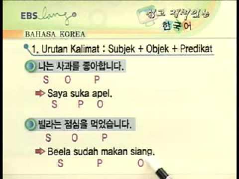 belajar bahasa korea part 02
