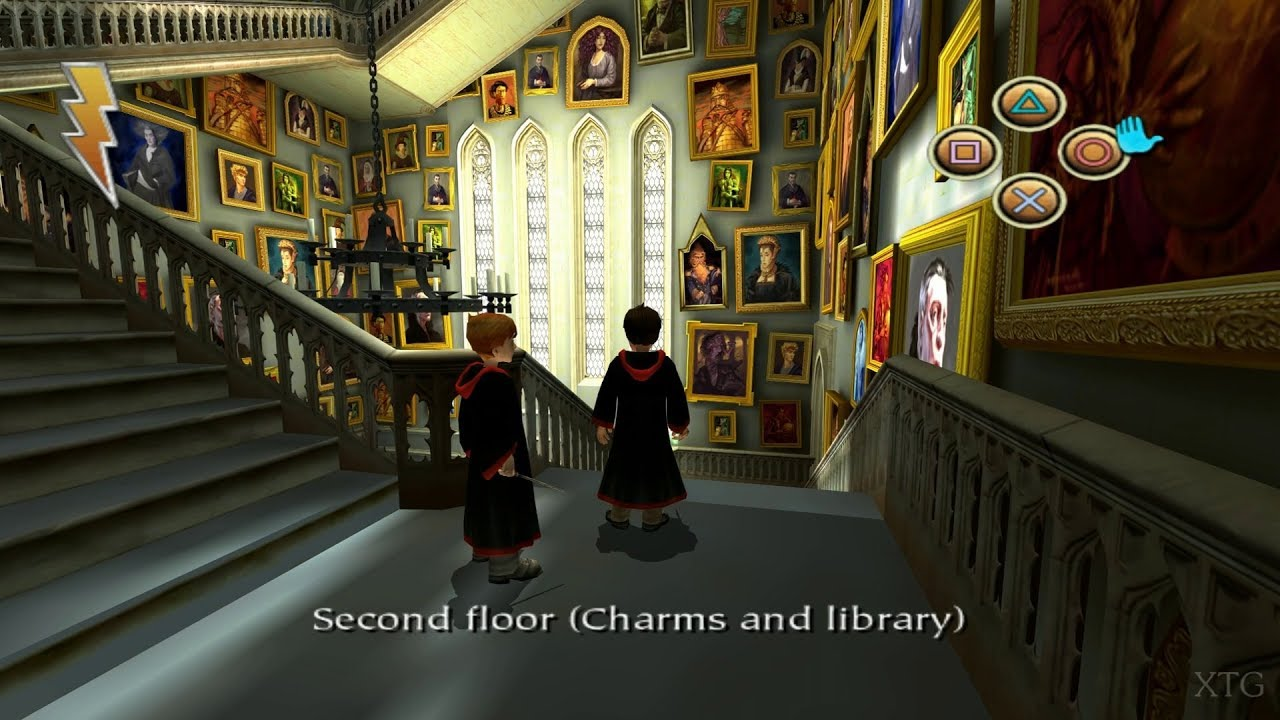 Harry Potter and the Philosopher's Stone PS2 Gameplay HD