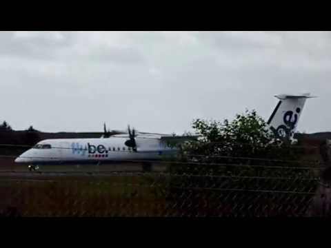 Flybe Bombardier Dash-8 Q400 at Ireland West Knock Airport