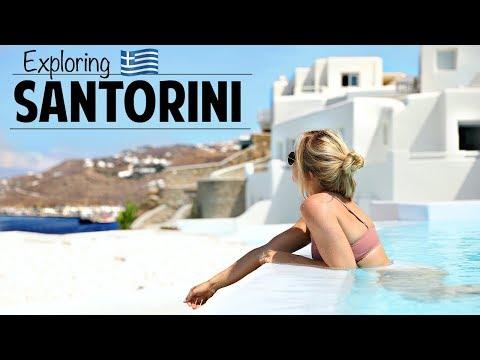 Girls Trip To Mykonos And Santorini  Ashley Nichole