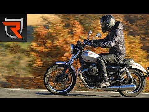 2017 Moto Guzzi V9 Roamer First Test Review Video | Riders Domain