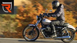2017 Moto Guzzi V9 Roamer First Test Review Video | Riders Domain