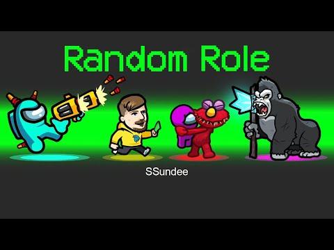RANDOM ROLES *3* Mod in Among Us