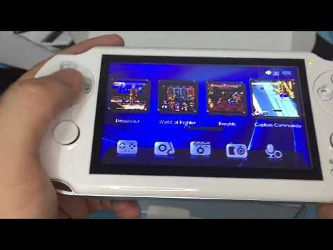64 Bit PAP GAMETA 2 Handheld Game Console MP5 Player
