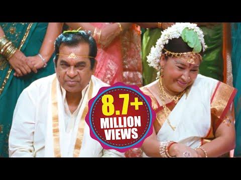 "Brahmanandam As ""AAKU BHAI"" || Back 2 Back Hilarious Comedy Scenes || Volga Videos 2017 thumbnail"