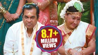"Brahmanandam As ""AAKU BHAI"" || Back 2 Back Hilarious Comedy Scenes || Volga Videos 2017"