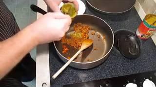 Breakfast Burrito - Eggs, Green Chili, Nacho Cheese And Chorizo - Poormansgourmet