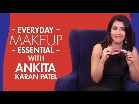 What's in my makeup bag with Ankita Karan...