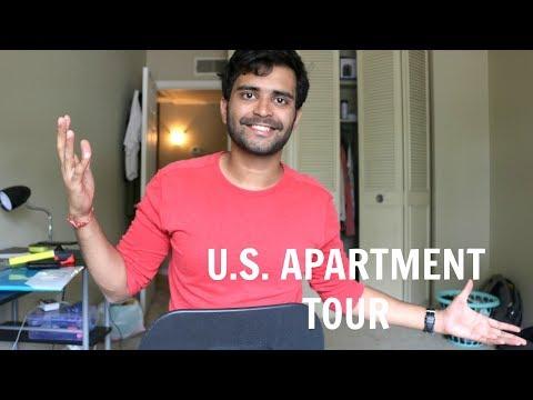 US Apartment Tour - Off- Campus Housing - 동영상