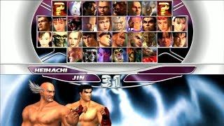 Tekken Tag Tournament - Jin Kazama & Heihachi Mishima