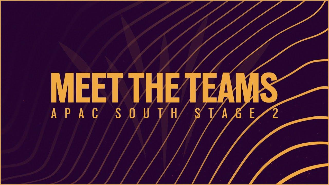 APAC 사우쓰 스테이지 2를 마무리하며... [Meet the Teams : APAC South Stage 2]   레인보우 식스 시즈