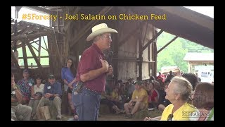 #5forestry - Joel Salatin On Chicken Feed - 2014