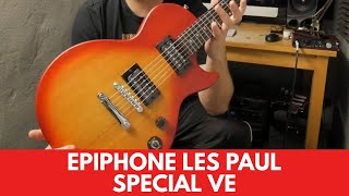 Epiphone Les Paul Special VE Review Demo