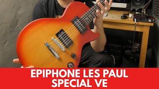 Epiphone Les Paul Special VE Review Demo