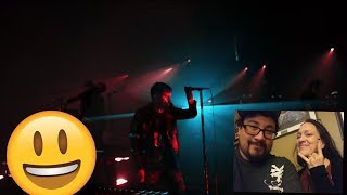Reaction- nine inch nails lovers live