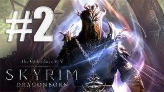 Skyrim: Dragonborn DLC / 2 Серия / Первая смерть и Солстхейм!